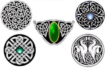 Эскизы и орнаменты кельтских
